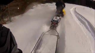 4. Winter 2014 snowmobiling / skandic SWT 800 -tundra550f-yamaha nytro mtx
