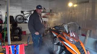 7. 2014 arctic cat cross tour  Xf 7000.   My repair nightmare