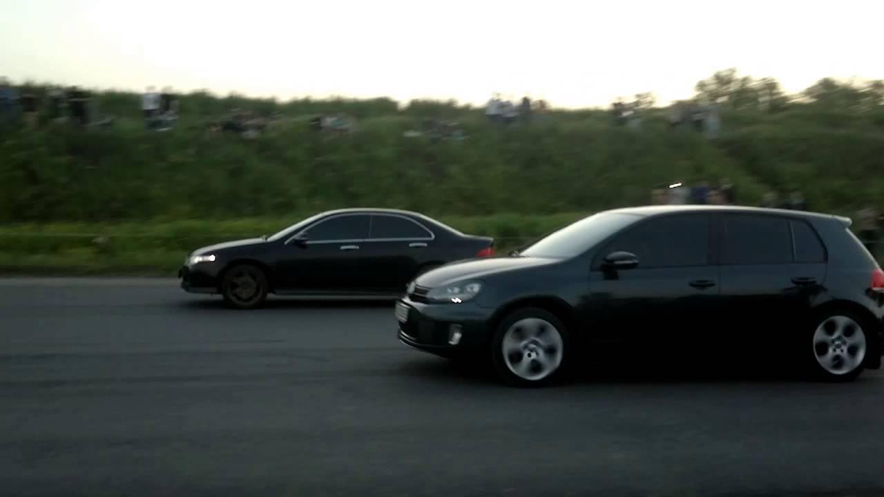 АдреналинДраг 05.2014 – Accord vs Golf GTI