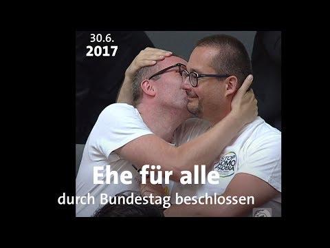 Deutschland hat die Ehe für alle