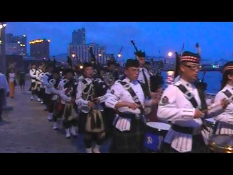 HKAC Pipes & Drums Hong Kong Pipefest 2010 - Part 4/4 видео