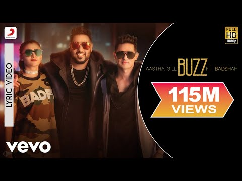 Buzz - Lyrics Video | Aastha Gill feat Badshah & Priyank Sharma