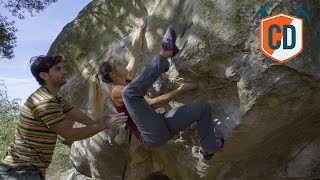 Climbing Sessions: Working A Font 8A Boulder | Climbing Daily Ep.1329 by EpicTV Climbing Daily