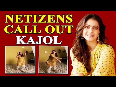Kajol faces wrath over her latest video