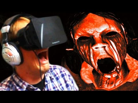 Manor - Oculus Rift Horror Game, Affected The Manor: Today Hank Green plays a terrifying game using the Virtual Reality Oculus Rift! The level of immersion is scary! Subscribe now for daily gaming...