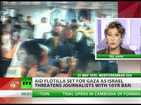 New Gaza flotilla set to sail, Israel to ban journos joining mission