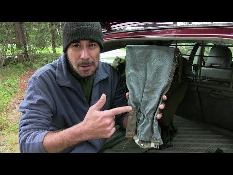 Günstige Gamaschen [TIPP!!] für Jagd, Wandern und Bushcraft | Outdoor AusrüstungTV