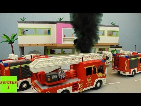 Video Sammlung mit Playmobil Feuerwehr Einsätzen seratus1