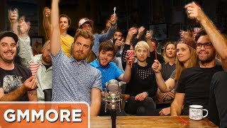 Main Channel Video: http://bit.ly/GMMSnowCone  Watch the previous episode: http://bit.ly/DronePizzaGMMSUBSCRIBE to Good Mythical MORE: http://bit.ly/2b1JfhQFollow Rhett & Link:Facebook: http://facebook.com/rhettandlinkTwitter: http://twitter.com/rhettandlinkTumblr: http://rhettandlink.tumblr.comInstagram: http://instagram.com/rhettandlinkOther Rhett & Link Channels:Main Channel: https://youtube.com/rhettandlinkGood Mythical Morning: https://youtube.com/user/rhettandlink2Rhett & Link EXTRAS: https://youtube.com/user/rhettandlink4GMM Merch: http://bit.ly/RhettLinkStoreListen to our FREE podcast, Ear Biscuits:Apply Podcasts: http://apple.co/29PTWTMSpotify: http://spoti.fi/2oIaAwpArt19: https://art19.com/shows/ear-biscuitsJOIN the RhettandLinKommunity: http://bit.ly/rlkommunityMail us stuff to our P.O. Box: http://rhettandlink.com/contactSubmit a Wheel of Mythicality intro video: http://bit.ly/GMMWheelIntroCredits:Executive Producer: Stevie Wynne LevineWriter/Producer: Edward Coleman Writer/Producer: Lizzie BassettWriter/Producer: Kevin KostelnikWriter/Producer: Micah GordonWriter/Producer: Ellie McElvainAssociate Producer: Chase HiltTechnical Director/Graphics/Editor: Morgan LockeEditor: Casey NimmerAdditional Graphics/Editing: Matthew DwyerArt Director: Colin J. Morris Production Assistant: Saagar Shaikh Content Manager: Becca CanoteSet Construction/Dresser: Cassie CobbIntro Motion Graphics: Digital Twigs http://www.digitaltwigs.comIntro Music: Pomplamoose http://www.youtube.com/pomplamoosemusicOutro Music: Pomplamoose http://www.youtube.com/pomplamoosemusicWheel of Mythicality Music: http://www.royaltyfreemusiclibrary.com/All Supplemental Music: Opus 1 Music  http://opus1.sourceaudio.com/ Microphone: 'The Mouse' by Blue Microphones http://www.bluemic.com/mouse/