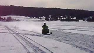 6. Arctic Cat Sabercat 700 with MBRP fly by