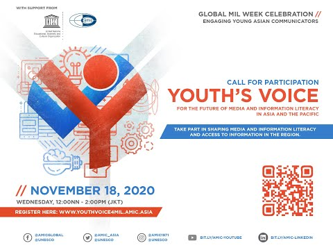Youth's Voice for Media and Information Literacy in Asia and the Pacific
