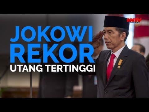 Jokowi Rekor Utang Tertinggi