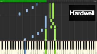 Hardwell feat. Chris Jones - Young Again (Piano Tutorial)