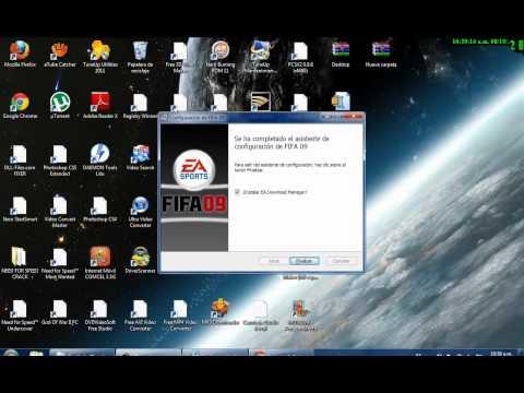 DESCARGAR E INSTALAR FIFA 09 FULL PARA PC