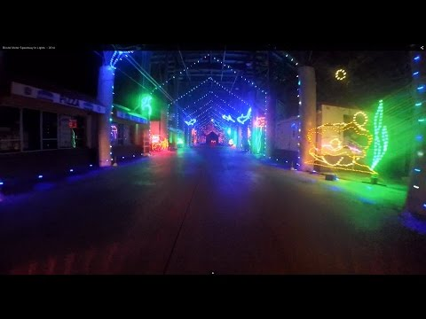 Bristol Motor Speedway In Lights :: 2014