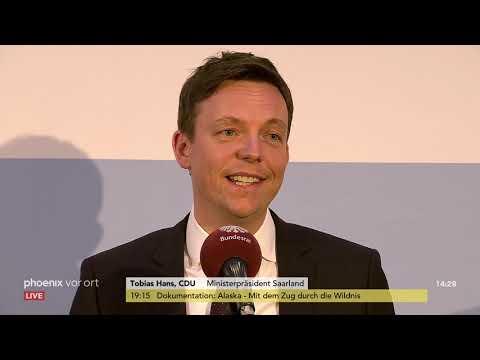 Pressekonferenz im Anschluss der Konferenz der Regier ...