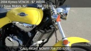 5. 2004 Kymco VENOX Motor Scooter for sale in Charlotte, NC 282
