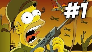 The Simpsons Game Walkthrough | Part 1 (Xbox360/PS3/Wii)