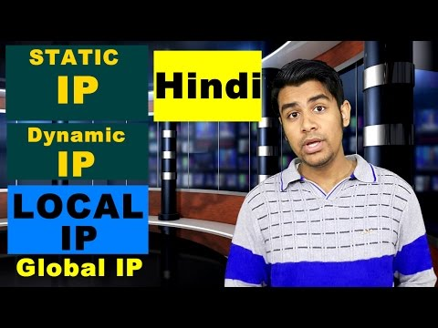 Local IP/Global IP/Static Ip/Dynamic IP - Explained Clearly (In Hindi)
