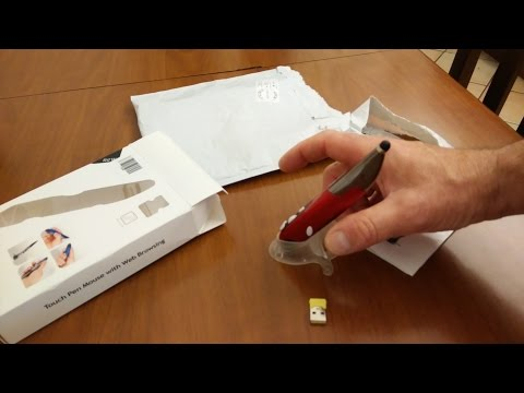 Wireless Optical Pen Mouse Review