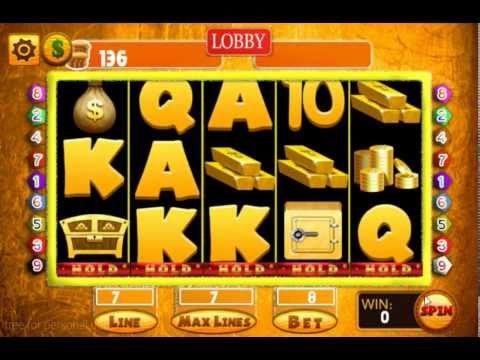 Video of SUPER Slot Machine Casino Game