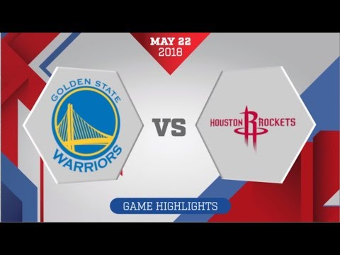 Houston Rockets vs Golden State Warriors WCF Game 4: May 22, 2018 (видео)