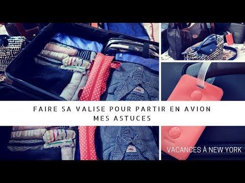 Organiser sa valise pour voyager en avion
