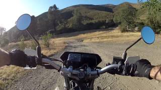 7. Riding the CRF230M around Indian Hills