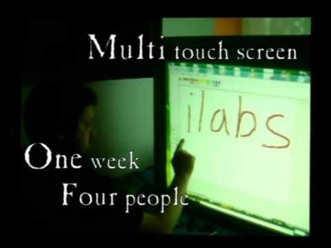 DIY Multi Touch Screen