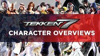 Video Tekken 7 Character Overviews MP3, 3GP, MP4, WEBM, AVI, FLV September 2019