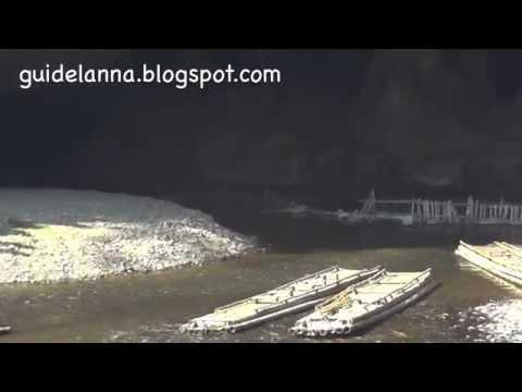 ถ้ำน้ำลอด ถ้ำผีแมน ปางมะผ้า แม่ฮ่องสอน Thum Num Lod Cave Pang Mapha (видео)