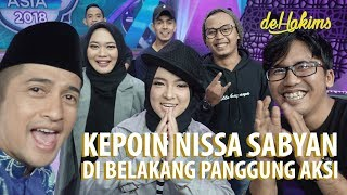 Video KEPOIN NISSA SABYAN di belakang panggung AKSI MP3, 3GP, MP4, WEBM, AVI, FLV September 2018