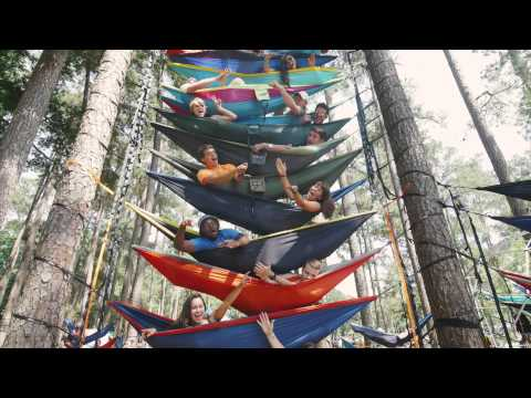 World's Largest Hammock Party - In 4k!