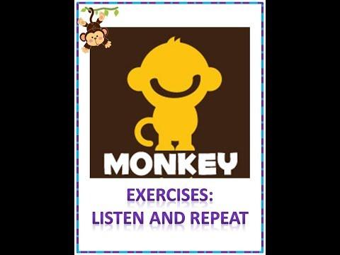 Frases cortas - Inglés virtual Monkey 1