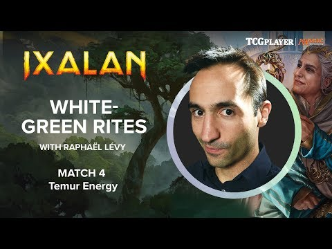 [MTG] White-Green Rites | Match 4 VS Temur Energy