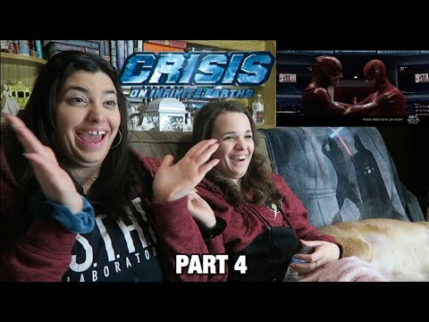 "ARROW 8X08 ""CRISIS ON INFINITE EARTHS PART 4"" REACTION"