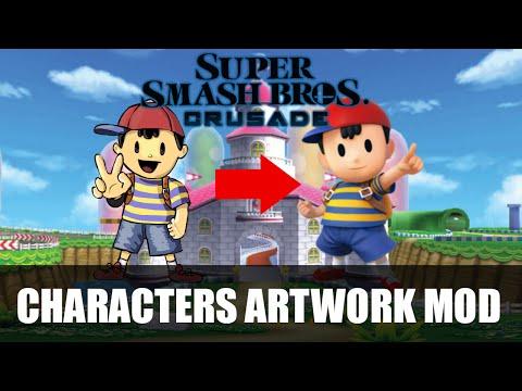 SSBC V.0.9 Patch - Characters Artwork Mod.