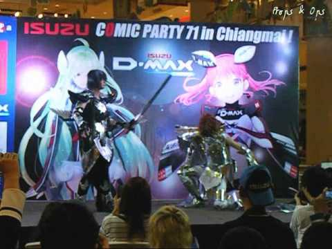 World Cosplay Summit 2014 Thai regional round – Chiang Mai – Team 4 Saint Seiya