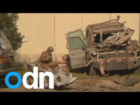bomb - Subscribe here: http://bit.ly/ODNsubs A bomb attack near the US embassy in the Afghan capital, Kabul, has killed four troops from the NATO-led international military force. The explosion occurred...