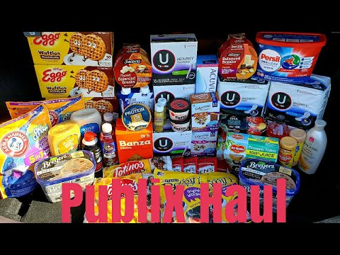 Publix Extreme Couponing Haul| Free items included