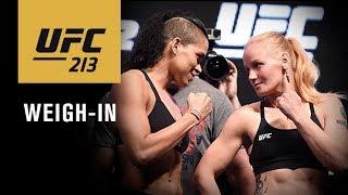 Video UFC 213: Official Weigh-in MP3, 3GP, MP4, WEBM, AVI, FLV September 2018