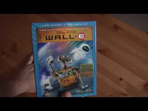 BONUS VIDEO!!! File91e Unboxes The Wall-E 3-Disc Blu-Ray