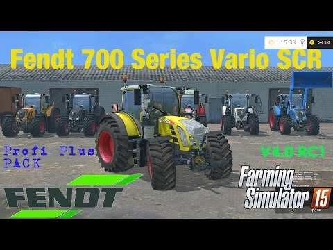 Fendt 700 Vario SCR SERIES v4.0 RC1