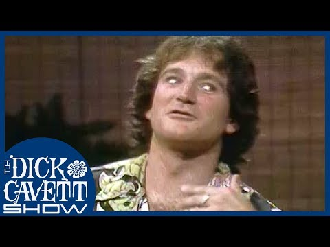 Easy Laughs with Robin Williams | The Dick Cavett Show