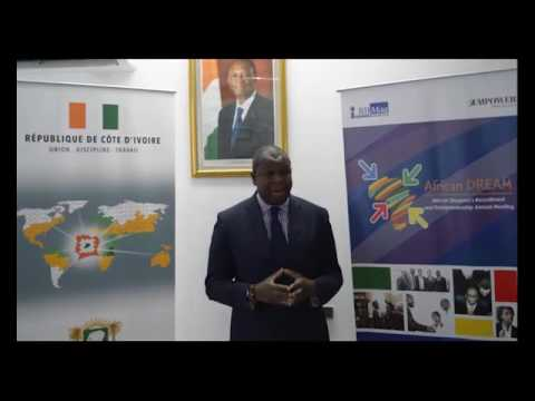 PRESENTATION DE L'AFRICAN DREAM PAR ISSIAKA KONATE