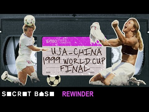 Brandi Chastain's World Cup-winning goal demands a deep rewind | 1999 USA vs. China