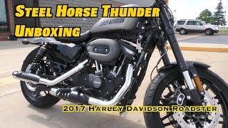 5. Unboxing 2017 Harley Davidson Roadster