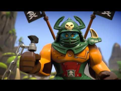 Конструктор Остров тигриных вдов - LEGO NINJAGO - фото № 9