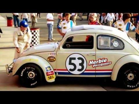 Herbie fully loaded (2005) Trip Murphy NASCAR takedown
