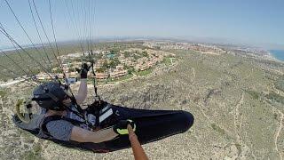 Santa Pola Spain  city photo : Paragliding Santa Pola Spain 20160702